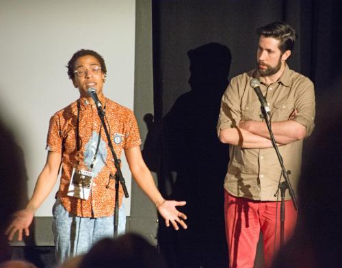 (T)error co-directors Lyric Cabral and David Sutcliffe